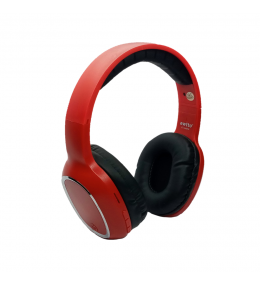 Audífonos Bluetooth Estéreo Rojo