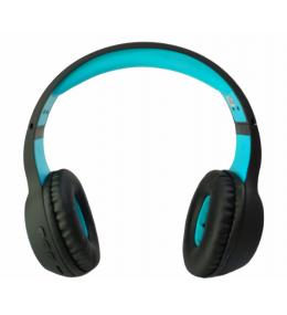 Audífonos Bluetooth Extra Bass Negro/Aqua