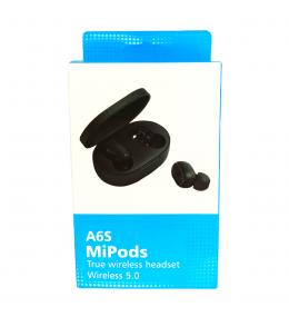 Audífonos Bluetooth MiPods A6S