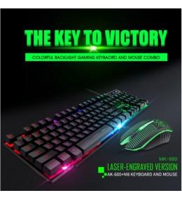 Combo Teclado y Mouse USB Gamer