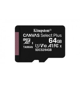 MEMORIA MICRO SD 64GB KINGSTON CANVAS