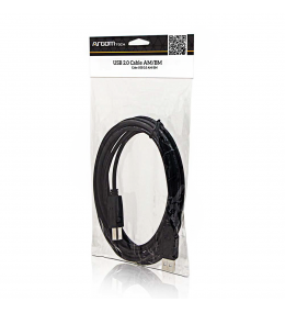 CABLE USB A / B IMPRESORA 6 PIES