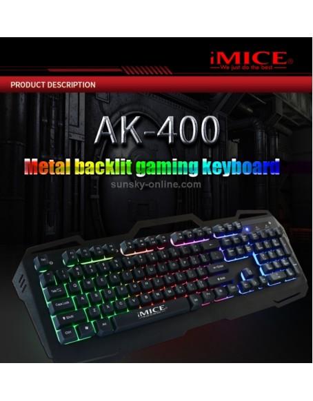 TECLADO GAMER iMICE USB AK-400