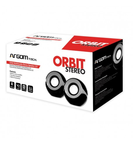 Bocinas Multimedia Orbit Estéreo Speaker 2.0