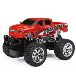 Dodge Ram Rebel Rojo con Control Remoto