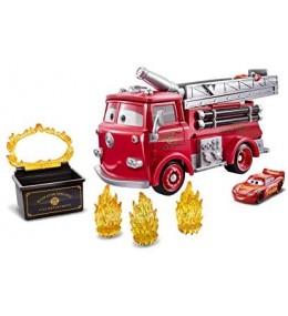 Cars Camión de Bomberos Rojo Disney Pixar
