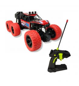 Carro Control Remoto / Recargable / Función de pulverización / Rojo