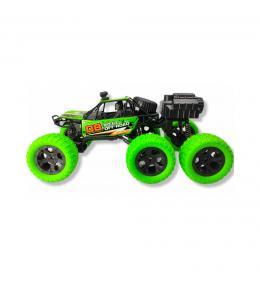 Carro Control Remoto / Recargable / Función de pulverización / Verde