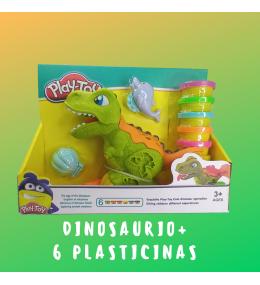 Dinosaurio Creativo + plasticina