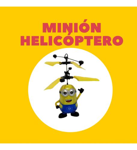 HELICÓPTERO MINIÓN DE SENSOR